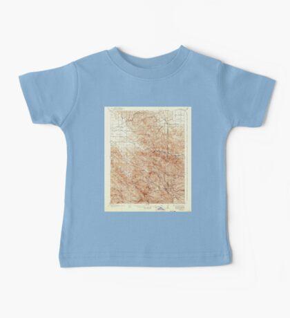 USGS TOPO Map California CA Tesla 301817 1907 62500 geo Baby Tee