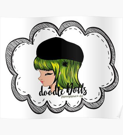 doodle Dolls - 002 (A) Poster
