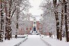 Castle in  Winter Dress by AnnieSnel