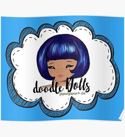 doodle Dolls - 003 (B) Poster
