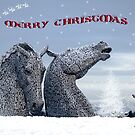 Jessies first christmas card by joak