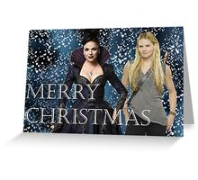 Simple Swan Queen Christmas Cards Greeting Card
