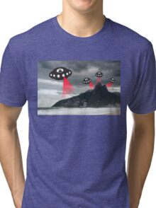 Alien invasion, Rio de Janiero Tri-blend T-Shirt