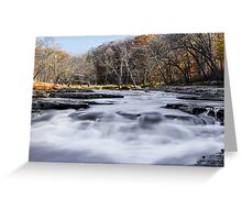 Mill Creek Whitewater Greeting Card