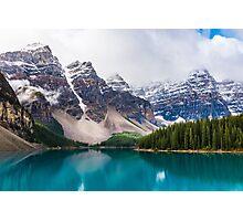 Moraine Lake, Alberta, CA. Photographic Print