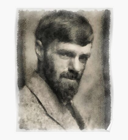 D. H. Lawrence, Author Poster