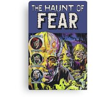 The Haunt of Fear Canvas Print
