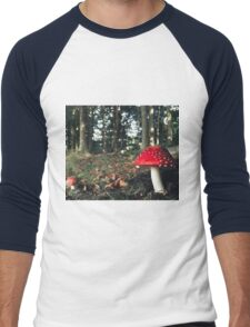 Smurfs House Men's Baseball ¾ T-Shirt
