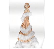 Winter wonderland fantasy Christmas collection Poster