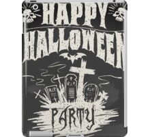 Happy Halloween Party iPad Case/Skin