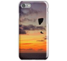 Sunset On The Cliffs Above iPhone Case/Skin