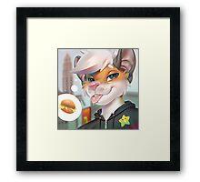 Edward Hamster Framed Print