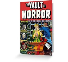 The Vault of Horror Greeting Card