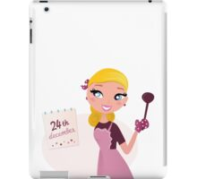 Blond chic Chef woman. Cooking arrivals for 2016 iPad Case/Skin