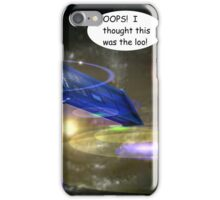 Dr Who Makes a Mistake iPhone Case/Skin
