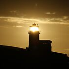 Belle Tout Lighthouse Sunset by Jonathan Cox