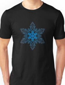 Snowflake Embroidery Unisex T-Shirt