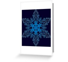 Snowflake Embroidery Greeting Card