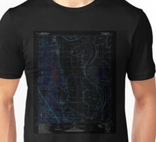 USGS TOPO Map Arkansas AR Woodson 259914 1987 24000 Inverted Unisex T-Shirt