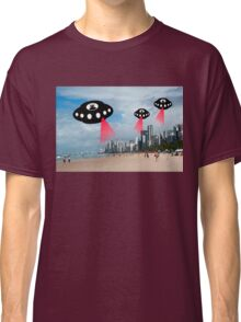 Aliens attack Recife, Brazil Classic T-Shirt
