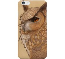 Hibou iPhone Case/Skin