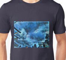 Blue Cloud / Blaue Wolke Unisex T-Shirt