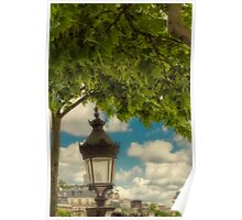 Old Parisienne Lamp Poster