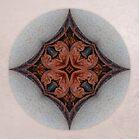 Curly Leaf Mandala 3 by Gail S. Haile