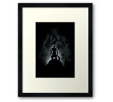The Dovahkiin (v2) Framed Print