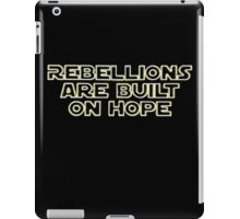 They Always Have Been... iPad Case/Skin