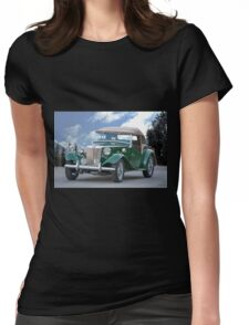 1953 MG TD Roadster Womens Fitted T-Shirt