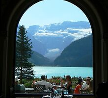 Window View by Jeannine St-Amour