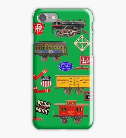 Toy Trains iPhone Case/Skin