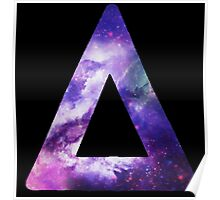 Bastille Triangle Logo (Galaxy Print) Poster