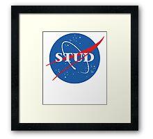 NASA Stud Framed Print