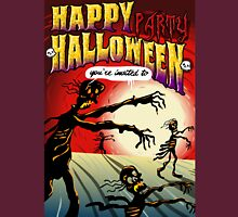 Happy Halloween Skeletons Unisex T-Shirt