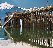 The Dock at Haines Alaska by Yukondick