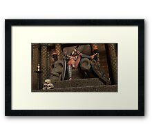 War Queen 2 Framed Print