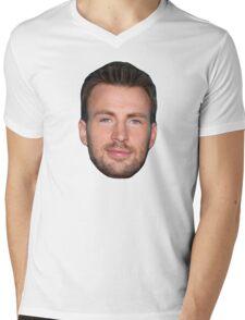 Chris Evans Mens V-Neck T-Shirt