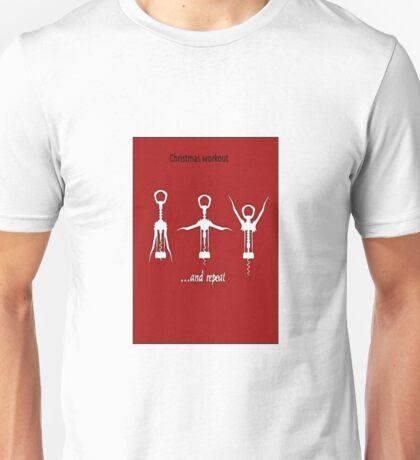 Christmas Workout Unisex T-Shirt