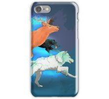 Wormtail, Padfoot, Moony and Prongs iPhone Case/Skin