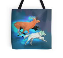 Wormtail, Padfoot, Moony and Prongs Tote Bag