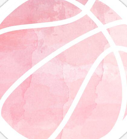 Basketball Pink Sticker