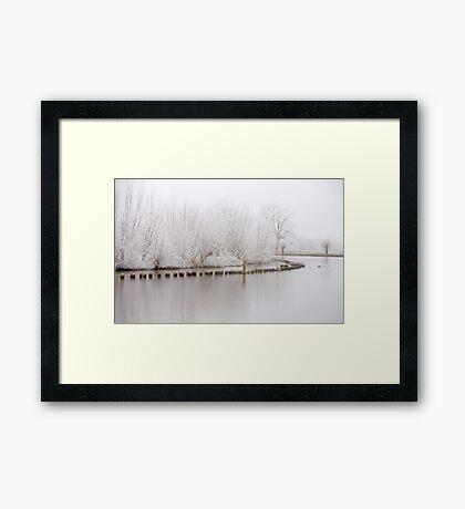 Tranquil Landscape Framed Print