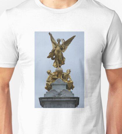 Queen Victoria Memorial Gold statue Unisex T-Shirt