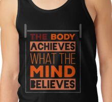 fitness and Gym Tank Top