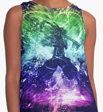 kingdom storm-rainbow version Contrast Tank