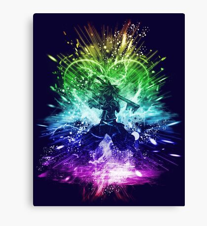 kingdom storm-rainbow version Canvas Print