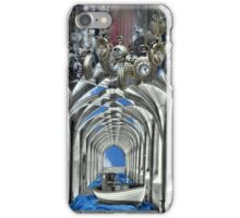 Travel in time iPhone Case/Skin