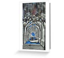 Travel in time Greeting Card
